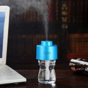 Fashion new *Mini Humidifier USB Charging Portable Bottle Steam Air Mist Diffuser Office Room