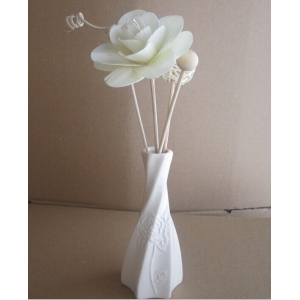 Ceramic dry flower cane no fire aromatherapy/Essential oil box